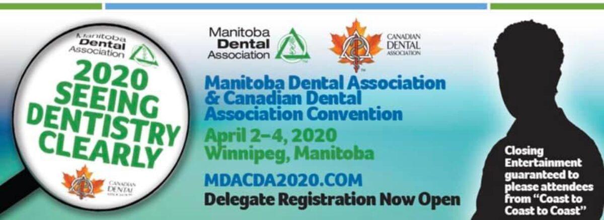 MDA & CDA 2020 Convention – April 1-4, 2020 at RBC Convention Centre